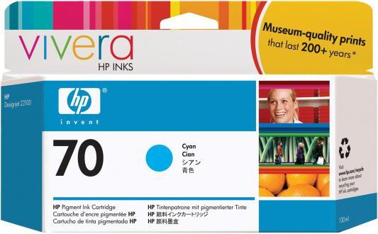 Струйный картридж HP C9452A №70 голубой для HP DJ Z2100/Z3100 hp cn053ae 932xl black струйный картридж