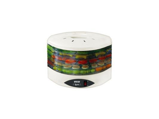 Сушка для овощей и фруктов Mystery MDH-322 белый 250W