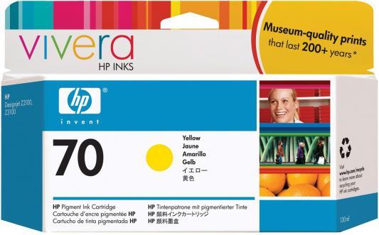 Струйный картридж HP C9454A №70 желтый для HP DJ Z2100/Z3100 hp cn053ae 932xl black струйный картридж