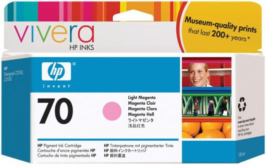Струйный картридж HP C9455A №70 светло-пурпурный для HP DJ Z2100/Z3100 hp cn053ae 932xl black струйный картридж