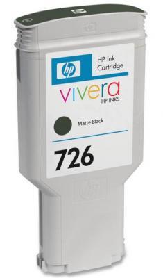 Струйный картридж HP CH575A №726 черный матовый для HP Designjet T1200/T1200 HD hp 726 ch575a matte black