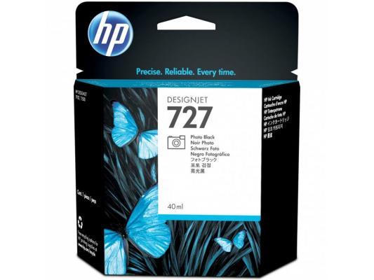 Струйный картридж HP B3P17A №727 черный для HP Designjet T920/T1500 hp cn053ae 932xl black струйный картридж