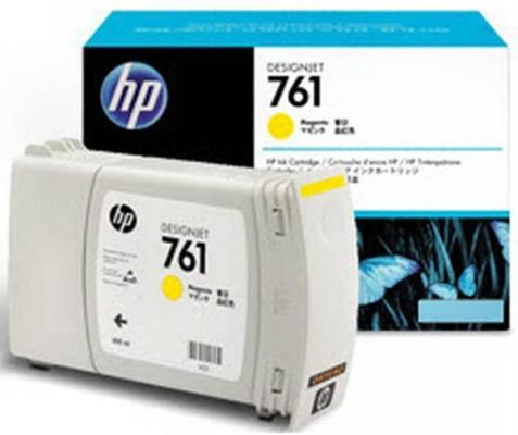 Струйный картридж HP CM992A №761 желтый для HP Designjet T7100 free shipping q5669 60664 for hp designjet t610 t1100 z2100 z3100 z3200 vacuum fan aerosol fan assembly original used