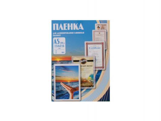 Фото - Пленка для ламинирования Office Kit, 175 мик, А5, 100 шт., глянцевая 154х216 (PLP11520-1) пленка для ламинирования office kit 100 мик а3 100 шт глянцевая 303х426 plp10630