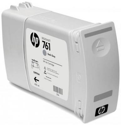Струйный картридж HP CM996A №761 темно-серый для HP Designjet T7100 hp cn053ae 932xl black струйный картридж