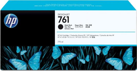 Струйный картридж HP CM997A №761 черный матовый для HP Designjet T7100 струйный картридж hp cm993a 761 пурпурный для hp designjet t7100