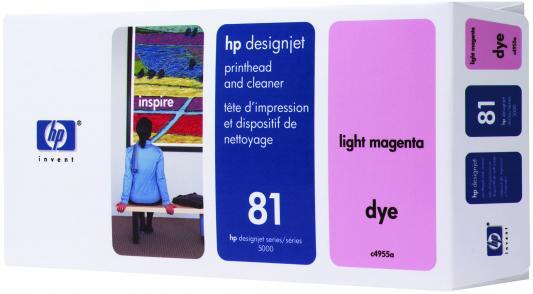 цена на Печатающая головка HP C4955A для DesignJet 5XXX светло-пурпурный