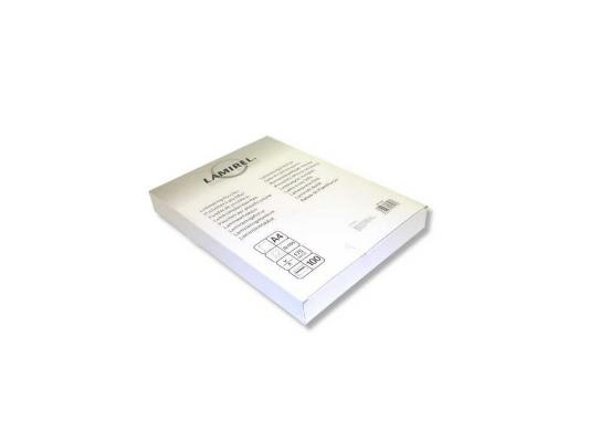 Пленка для ламинирования Fellowes Lamirel LA-7876501 А4 175мкм 100шт. 20781 small stainless steel clips silver 10 pcs