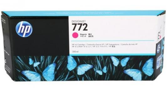 Струйный картридж HP CN629A №772 пурпурный для HP DJ Z5200 hp cn053ae 932xl black струйный картридж