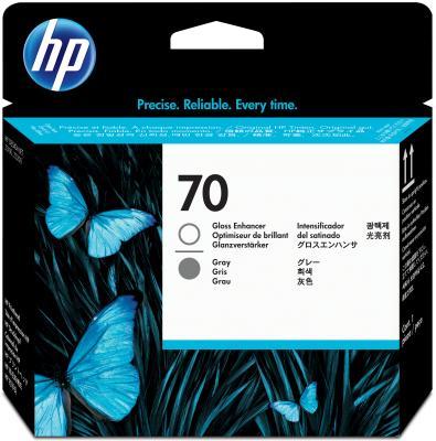 Картридж HP C9410A для DesignJet Z2100/Z3100 PS Pro B9100 глянцевый/серый 16000sh картридж hp c9408a для designjet z2100 z3100 ps pro b9100 голубой зеленый