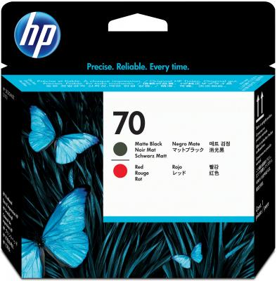 Картридж HP C9409A для DesignJet Z2100/Z3100 PS Pro B9100 матовый черный/красный 16000sh
