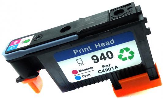 Печатающая головка HP C4901A №940 для Officejet Pro 8000/8500/8500a голубой/пурпурный печатающая головка hp c9382a для hp officejet pro k550 k5400 k8600 голубой пурпурный
