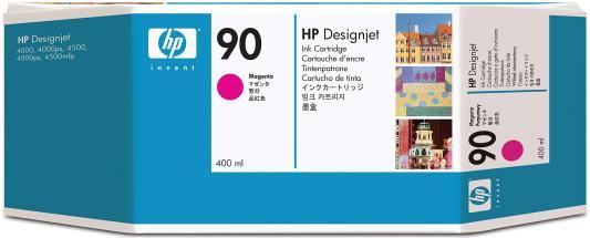 Струйный картридж HP C5063A №90 пурпурный для HP DesignJet 4000/4500 картридж hp f9j51a 765 для hp designjet t7200 пурпурный 400мл