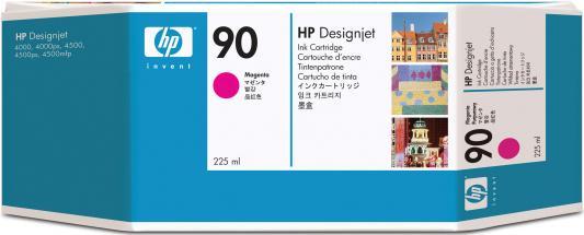 Струйный картридж HP C5062A №90 пурпурный для Designjet 4000/4000ps/4500/4500p картридж струйный hp c9391ae n 88xl cyan with vivera ink