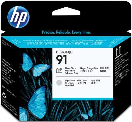 Картридж HP C9463A 91 для Designjet Z6100 черный/светло-серый цена и фото