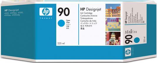Струйный картридж HP C5060A №90 голубой для Designjet 4000/4000ps/4500/4500p hp c9502ae 56 black струйный картридж