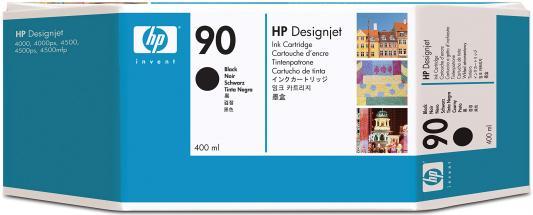 Струйный картридж HP C5058A №90 черный для Designjet 4000/4000ps/4500/4500p hp cn053ae 932xl black струйный картридж