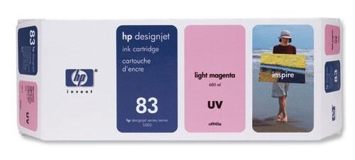 Струйный картридж HP C4945A №83 светло-пурпурный для HP DesignJet 5000/5500 струйный картридж hp c4942a 83 пурпурный для hp designjet 5000 5500