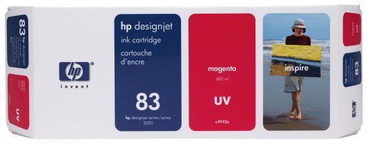 Струйный картридж HP C4942A № 83 пурпурный для HP DesignJet 5000/5500