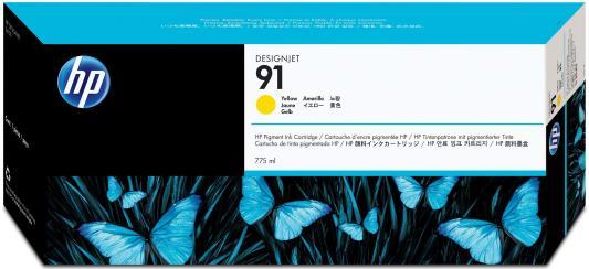 Струйный картридж HP C9469A №91 желтый для HP DJ Z6100 hp cn053ae 932xl black струйный картридж