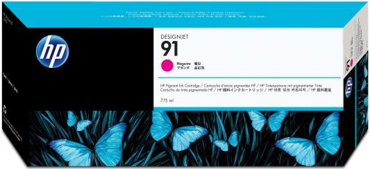 Струйный картридж HP C9468A №91 пурпурный для HP DJ Z6100 kumho hp 91 235 55r17 99 v