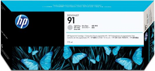 Фото - Струйный картридж HP C9466A №91 серый для HP DJ Z6100 картридж hp c9485a 91 для hp dj z6100 желтый 3шт