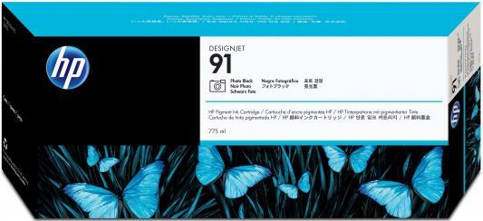 Струйный картридж HP C9465A №91 черный для HP DJ Z6100 струйный картридж hp c9486a 91 светло пурпуный для hp dj z6100 3шт