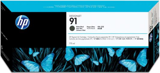 Фото - Струйный картридж HP C9464A №91 черный матовый для HP DJ Z6100 картридж hp c9485a 91 для hp dj z6100 желтый 3шт