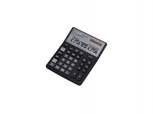 Калькулятор Citizen SDC-435N 16- разрядный калькулятор citizen sdc 554s 667496