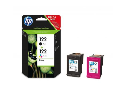 Струйный картридж HP CR340HE №122 цветной для HP DJ 1050/2050 for hp 122 black ink cartridge for hp 122 xl deskjet 1000 1050 2000 2050 3000 3050a 3052a printer