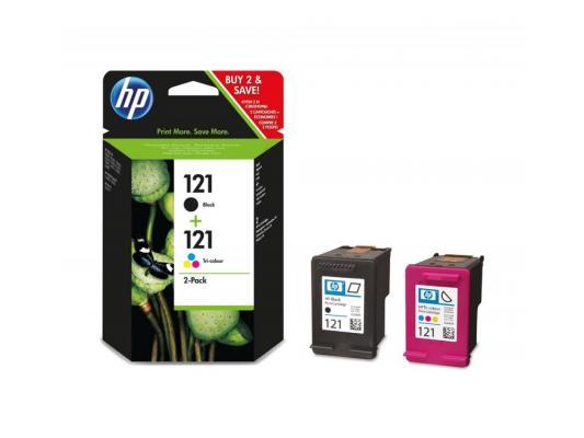 цены  Струйный картридж HP CN637HE №121 цветной для HP DJ D2563/D2663