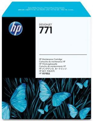 Фото - Картридж HP CH644A №771 для обслуживания HP Designjet Z6200 картридж hp f9j53a