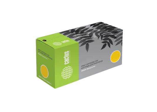 Картридж Cactus CS-CLT-Y407S для Samsung CLP-325 CLX-3185 желтый 1000стр картридж samsung clt y407s yellow для clp 325 clx 3185 1000 страниц