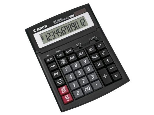 Калькулятор Canon WS-1610T 16 разряда настольный регулируемый наклон дисплея черный