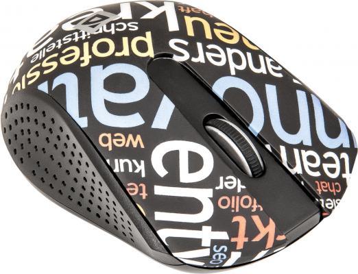 Мышь беспроводная DEFENDER StreetArt MS-405 Nano чёрный USB 52405