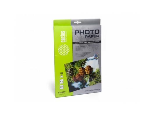 Фотобумага Cactus CS-GA315020 глянцевая А3+ (329x483) 150 г/м2 20 листов