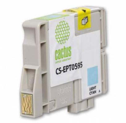 Струйный картридж CS-EPT0595 голубой для Epson Stylus Photo R2400 1150стр.