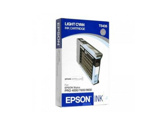 Картридж Epson C13T543500 для Epson Stylus Pro 7600/9600 светло-голубой for epson stylus pro 7600 9600 print head 1 piece and 7piece damper on promotion price
