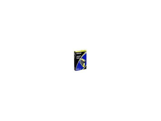 Картридж Epson C13T543400 для Epson Stylus Pro 7600/9600 желтый картридж epson c13t543400 для epson stylus pro 7600 9600 желтый