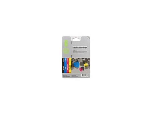 Струйный картридж Cactus CS-EPT0925 цветной для Epson Stylus C91/CX4300/T26 4шт. cactus cs r ept0925 color комплект картриджей для epson stylus c91 cx4300 t26