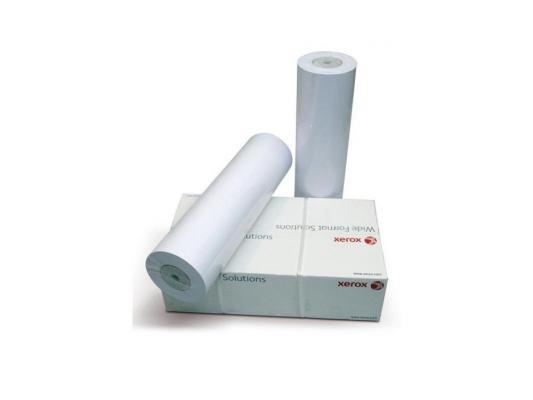 Бумага Xerox XES A3 297мм х 175м 75г/м2 рулон инженерная бумага 003R93236