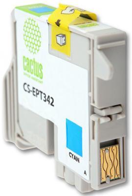 Струйный картридж Cactus CS-EPT342 голубой для Epson Stylus Photo 2100 440стр.