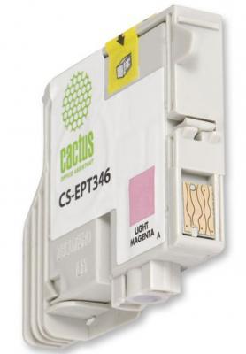Струйный картридж Cactus CS-EPT346 светло-пурпурный для Epson Stylus Photo 2100 440стр.