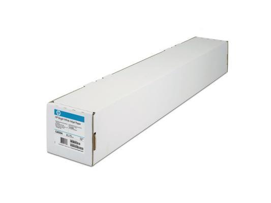 "Бумага HP 23.39"" 594мм х 45.7м 90г/м2 рулон с покрытием для струйной печати ярко-белая Q1445A"