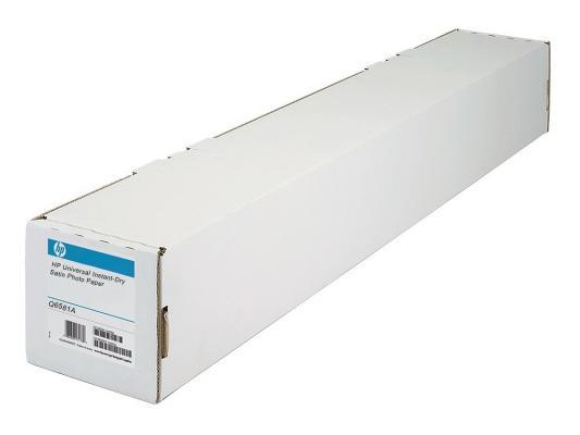 Купить Фотобумага HP 42 A0+ 1067мм х 30.5м 200г/м2 рулон атласная для струйной печати универсальная быстросохнущая Q6581A