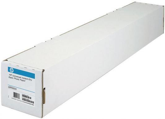 Купить Фотобумага HP 60 1524мм x 30.5м 200г/м2 рулон атласная для струйной печати универсальная быстросохнущая Q6583A