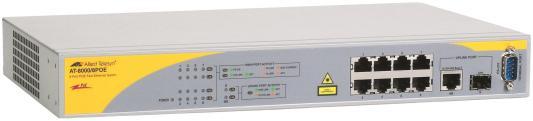 Коммутатор Allied Telesis AT-8000/8POE-50 управляемый 8 портов 10/100/1000Mbps SFP Combo коммутатор cisco sg200 50 48 портов 10 100 1000mbps 2x combo gblan sfp slm2048t eu