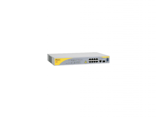Коммутатор Allied Telesis (AT-8000/8POE) 8 Port POE Managed Fast Eth+One 10/100/1000T/ SFP Combo