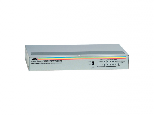 Коммутатор Allied Telesis (AT-FS705EFC/SC) 4 port 10/100Mbps Unmanaged with one Fiber UL Port (SC)