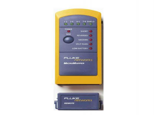 Кабельный тестер Fluke MT-8200-49A MicroMapperMicroMappermicromapper тестер пробник fluke т110